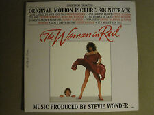 STEVIE WONDER THE WOMAN IN RED SOUNDTRACK LP '84 MOTOWN FUNK R&B SYNTH POP NM-
