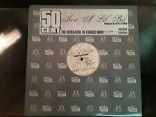 "50 Cent - ""Just A Lil Bit"" 2005 Promo Vinyl Record 12"" Single MINT! INTR-11390-1"