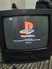 "Panasonic CRT 14"" TC-14S3R Colour Tv Retro Gaming Vintage Television"