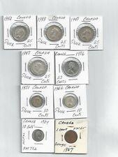 Canada Silver coins Hoard