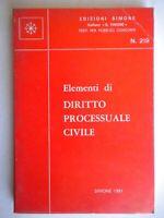 Elementi di diritto processuale civilesimonetimone concorsi pubblici nuovo 204