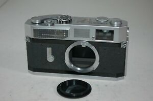 Canon-7 Vintage 1965 Japanese Rangefinder Camera. Serviced. No.835332. UK Sale