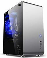 GOLDEN FIELD M3S Mini ITX Tempered Glass Windowed Aluminium Computer PC Case