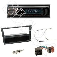 Caliber RMD212 Radio + Opel Astra Corsa Agila Blende schwarz + ISO Adapter