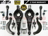 FORD FOCUS 2.5 ST REAR UPPER LOWER CURVED PAN CONTROL ARMS LINKS BUSHES BOLTS