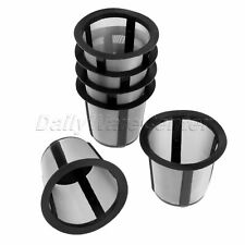 Steel Coffee Filter Pod Mesh Black for Keurig K10 K40 K60 K70 K75 6Pcs i Cafilas