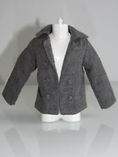 NEW GREY FABRIC QUALITY DRESS JACKET/COAT FASHION FOR/FITS KEN BARBIE DOLL