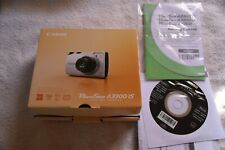 Canon Powershot A3300 IS 16MP 5X Zoom Digital Point and Shoot Camera - Silver