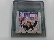WHO WANTS TO BE A MILLIONAIRE 2ND EDITION Gameboy Color Good