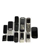 samsung motorola metropcs sanyo nokia cell phone lot for parts