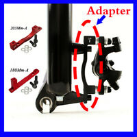 Bicycle Disc Brake Adapter Post PM for MTB Bike 180/203mm Front Rear Rotor US