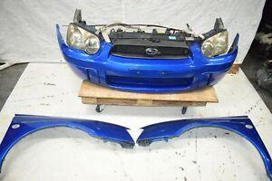 JDM 2004 2005 Subaru Impreza WRX STI GD V8 Nose Cut Front End Fenders Blob eye