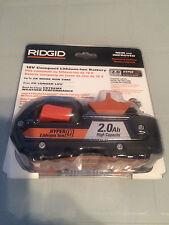 Brand New Sealed Ridgid 18V 2.0Ah Lithium Ion Battery