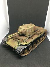 KV 1 tank model 1/35 scale rust version