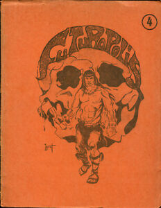 Fanzine Futuropolis N°4 - Rip Kirby/Artima/Bionnet/Topor... - 200 ex. - 1970