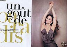 Coupure de presse Clipping 2012 Vanessa Paradis  (6 pages)