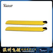 Tarot 450 pro sport 325 mm yellow wooden blades TL1158-04