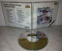 CD DAVE DUDLEY - COUNTRY & WESTERN SONGS