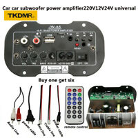 USB High Power Subwoofer Amplifier Board USB Remote Control For CarHome
