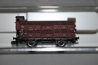 Fleischmann 8761 K 2-Achser Verschlagwagen DR mit Bremserhaus Spur N OVP