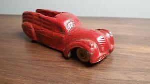 Rare! Sun Rubber Stake Truck Red