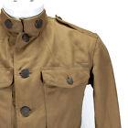 WWI Military Doughboy Summer Weight Uniform Collar Insignia 36th Headquarters