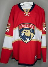 FLORIDA PANTHERS AUTHENTIC REEBOK HOME JERSEY SIZE XL
