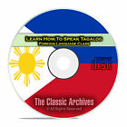 Learn How To Speak Tagalog, Fast & Easy Foreign Language Training Course, CD E19