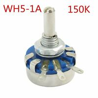 WH5-1A 4mm Shaft 3 Terminal Linear Taper Rotary Potentiometer Pot 150K ohm