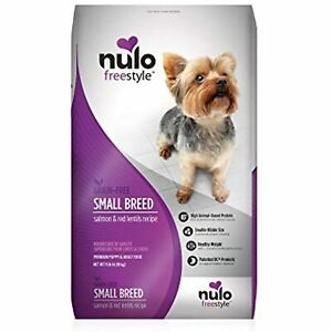 Nulo Small Breed Grain Free Dry Dog Food With Bc30 Probiotic (Salmon And Red