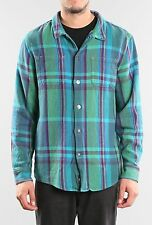 Camisa/Shirt - RUSTY - Talla/Size L -RECO LONG SLEEVE FLANNEL SHIRT- DEEP FOREST