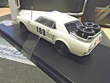 FORD Mustang MKI Rallye Monte Carlo 1965 #188 Vetch Feuz Premium X IXO 1:43