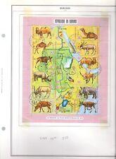 9B Burundi C127  Cat $25.00 used VERY RARE african animals