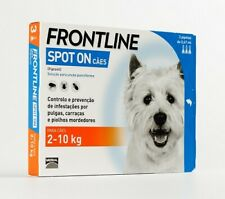 FRONTLINE SPOT ON Fleas Tick Lice Treatment Dog 2/10kg (4/22lb) (ie)
