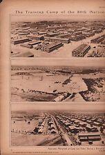 1918 Camp Lee, 80th U. S. Army Division,  Petersburg, VA.