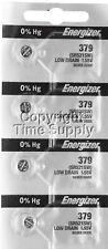 Energizer 379 Watch Batteries SR521SW SR521 0%HG ( 4 PC )