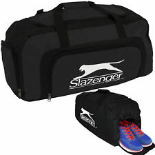 Slazenger Large Sports Gym Travel Holiday Duffel Holdall Bag Shoe Compartment*