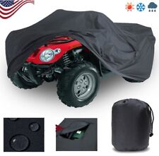 XL Custom Waterproof  Storage ATV Cover For Honda Kawasaki Suzuki Yamaha Polaris