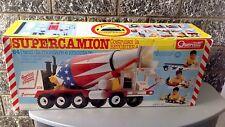 Vintage# QUERCETTI 1989 Supercamion Betoniera USA NRFB#Sealed box