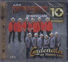 CD / DVD Los Invasores De Nuevo Leon y Cardenales De Nuevo Leon NEW SERIE 10 +