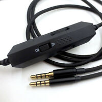 3.5mm Jack Audio Cable Volume Adjustment for Kingston Cloud Alpha Headphone