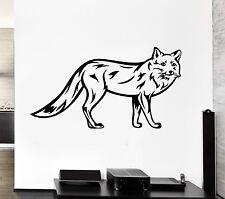 Wall Decal Animal Forest Fox Fur Beast Predator Wild Vinyl Stickers (ed263)