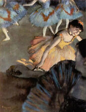 A Ballet Seen From The Opera Box by Edgar Degas , Oil Painting Art Reproduction