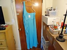 "Womens Davids Bridal "" NWT "" Size 18 Color Pool One Shoulder Dress "" BEAUTIFUL """