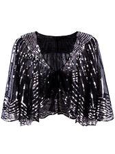 Black Dress Vintage Retro 1920s Flapper Dresses Gatsby Evening Gowns Plus Size
