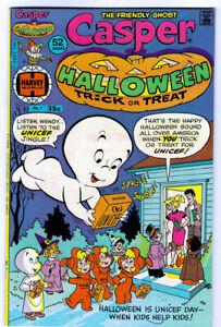 CASPER Halloween Trick or Treat #1 in VF condition 1976 Harvey Bronze Age comic