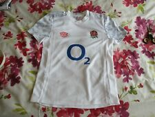England Rugby Union Gym Training Jersey 2020-21 youth small