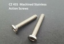 CZ 455 Upgraded STAINLESS STEEL Action Screws for Aftermarket Trigger Guards