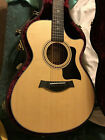 Taylor 714ce Acoustic Electric Guitar w/OHSC & Candy, Cedar/Rosewood