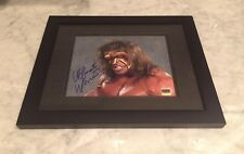Ultimate Warrior Autograph 11x14 Signed Framed Wrestling WWF WWE Auto CERTIFIED!